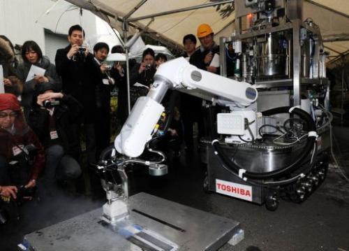 Dekontaminační vysavač společnosti Toshiba. Foto Toshiba