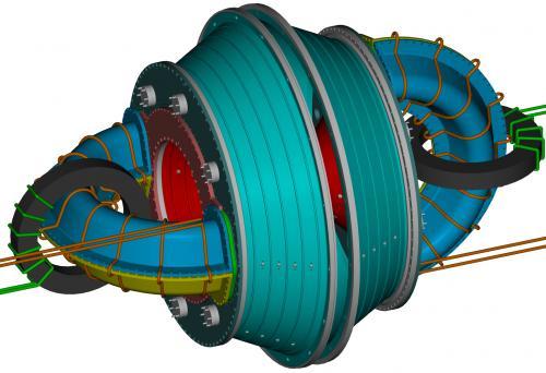 netradiční tvar fúzní komory, obr. T. Jarboe, Univ. of Washington
