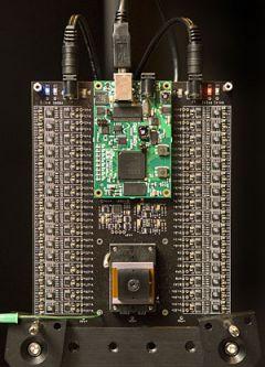 kamera s 12.616 čočkami (foto University of Stanford)