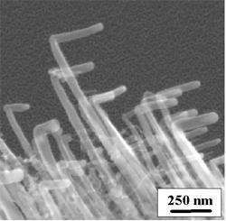 zahnuté uhlíkové nanotrubice