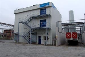 plníci stanice vodíkových trajlerů