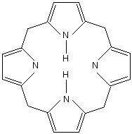 molekula porfyrinu