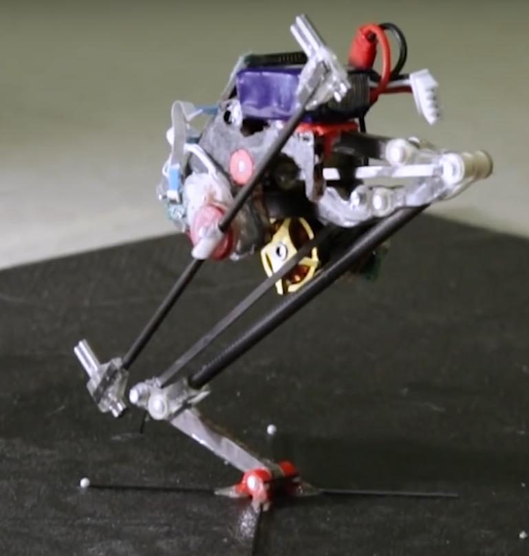 První verze robota Salto z roku 2016, US Army.