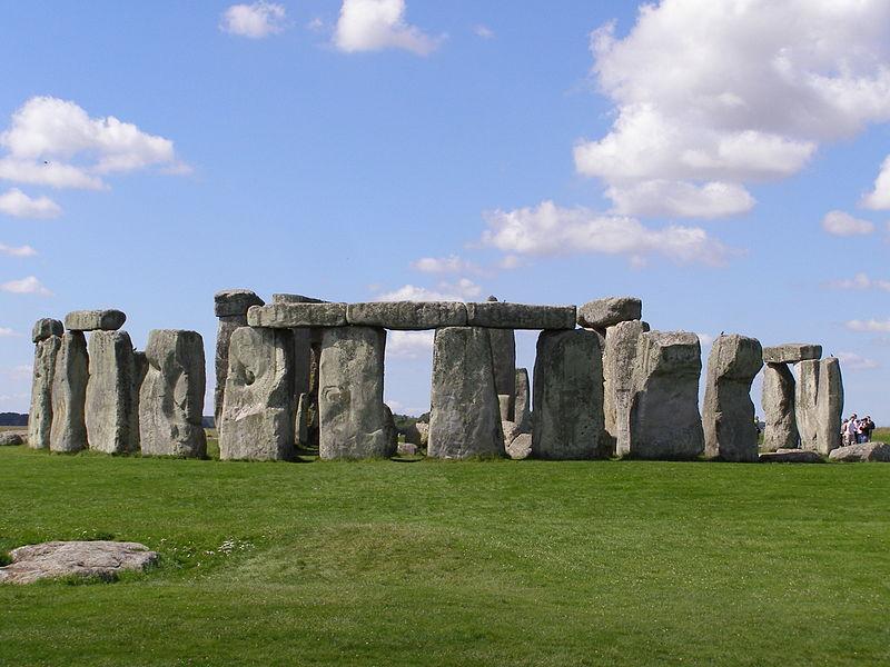 Donedávna jediná známá část Stonehenge, foto garethwiscombe. Wikimedia Commons, licence CCA 2.0