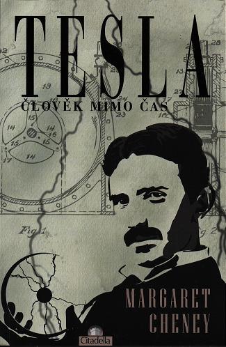 Titulní stránka jedné ze zajímavých knih o Nikolovi Teslovi