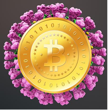 Antikryptoměna, výsledek křížení mezi virem a virtuální měnou.